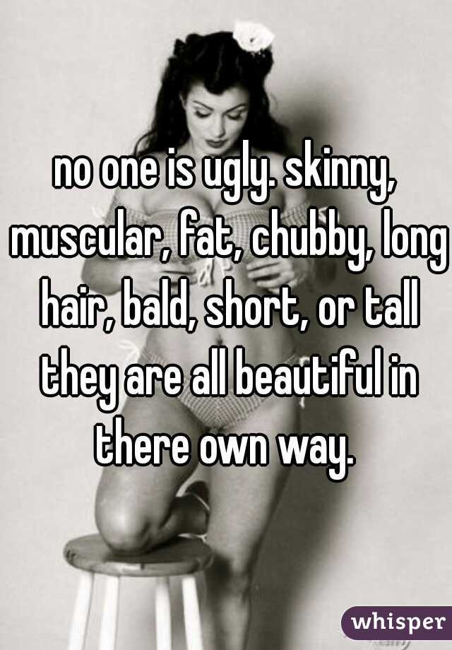 Is Fat Ugly