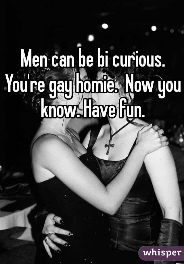 How do you know you re bi curious