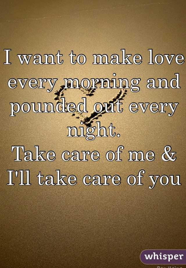 Making Love All Night