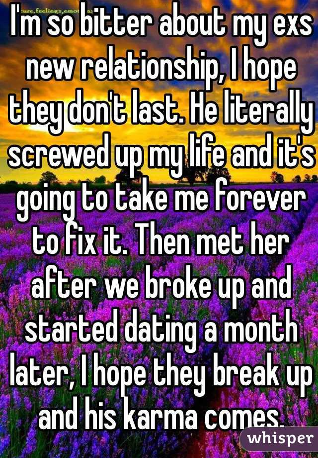 Fixing a relationship after a break up