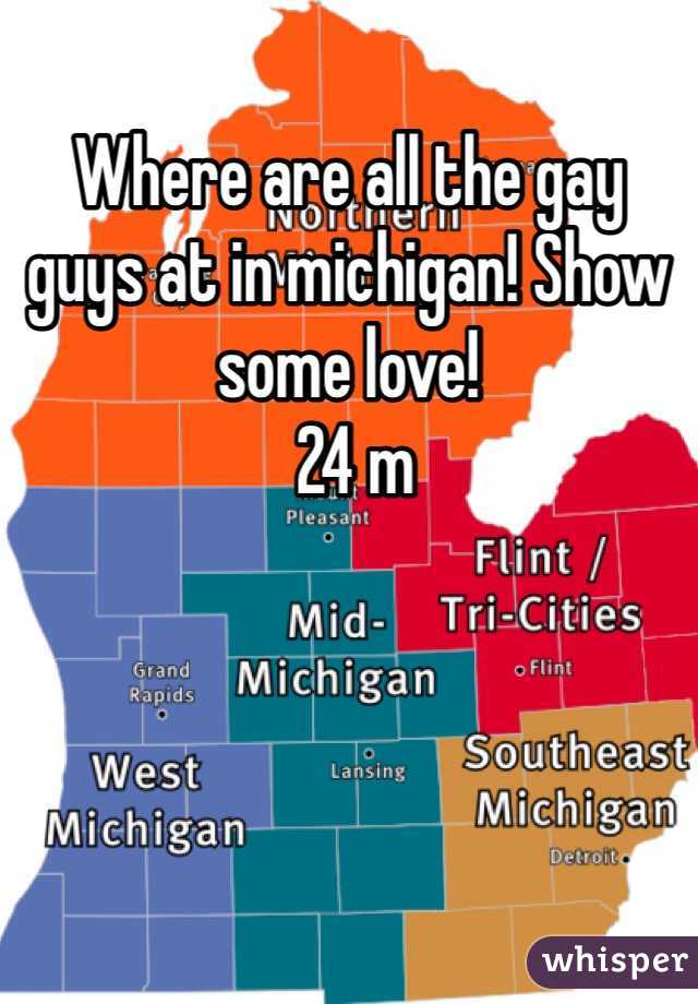 Where are all the gay guys at in michigan! Show some love!  24 m