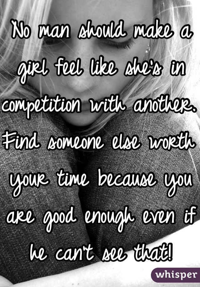Should i find someone else
