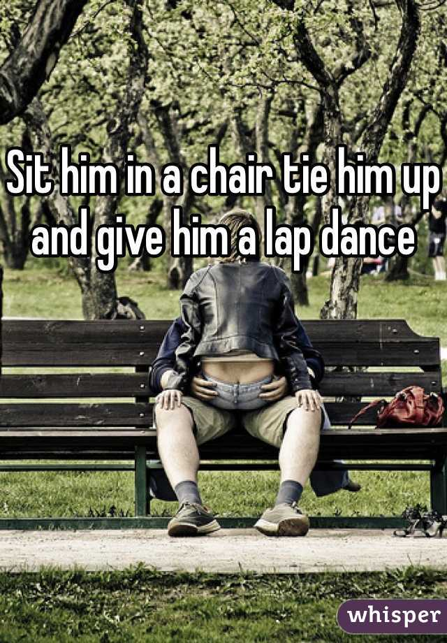 how to give him a lap dance