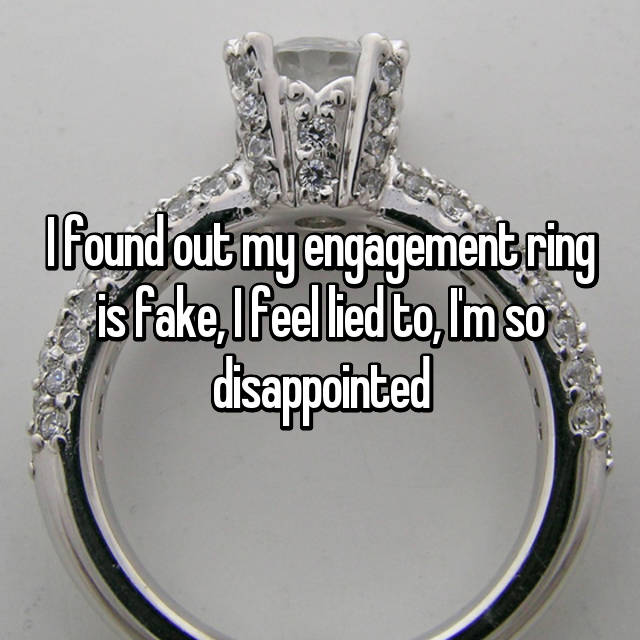 How Women Really Feel About Their Fake Engagement Rings