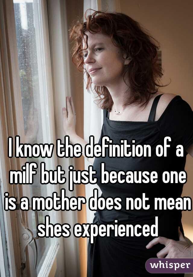 Much defination on milf