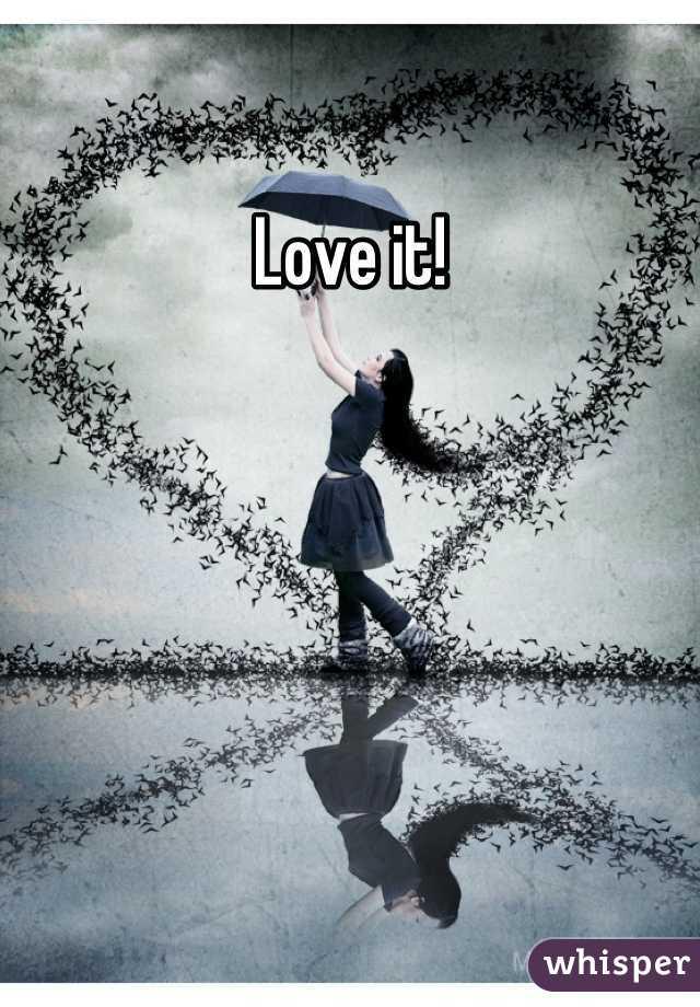 Love it!