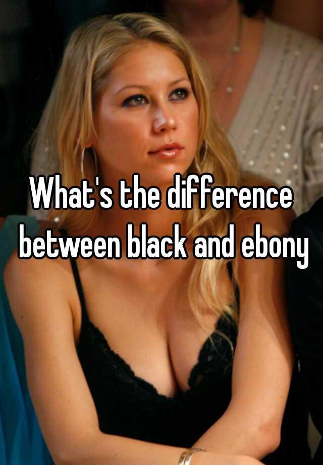 Black and ebony.com