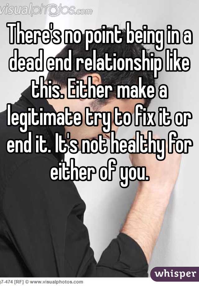Fix A Relationship How To Dead