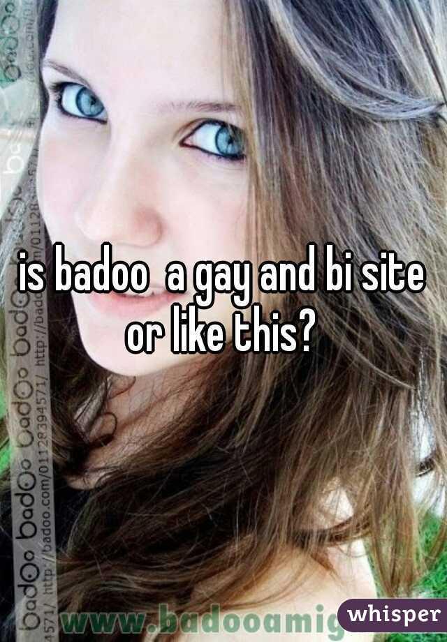 Is badoo a gay site