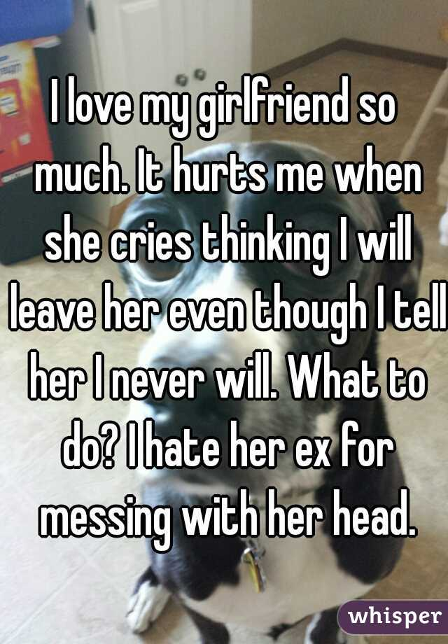 Why does it hurt my girlfriend when i enter her  Trouble