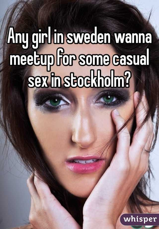 Model Hooker in Sweden