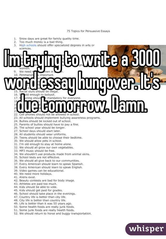 Too much money is a good thing essay