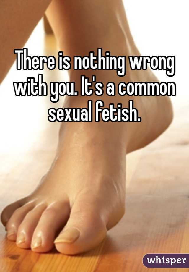 Common sexual fetish