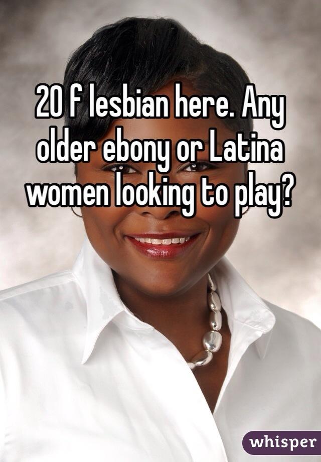 Ebony latina lesbian
