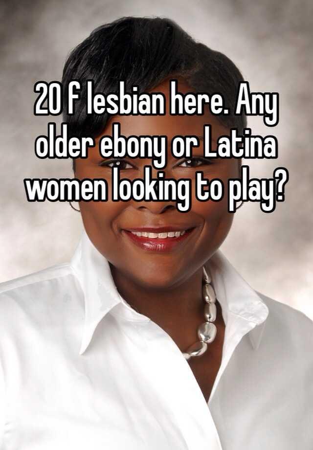 Ebony and latina lesbians