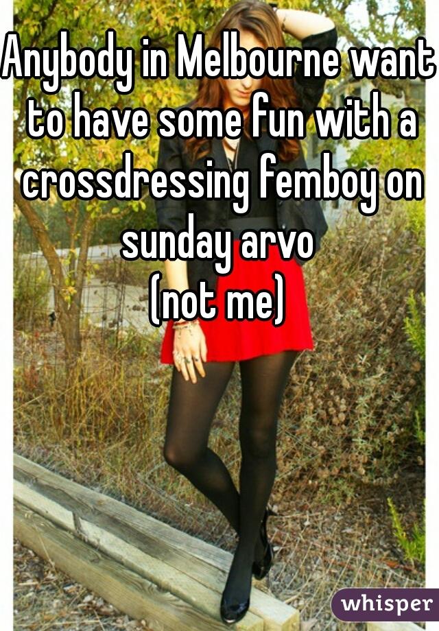 Crossdressing melbourne