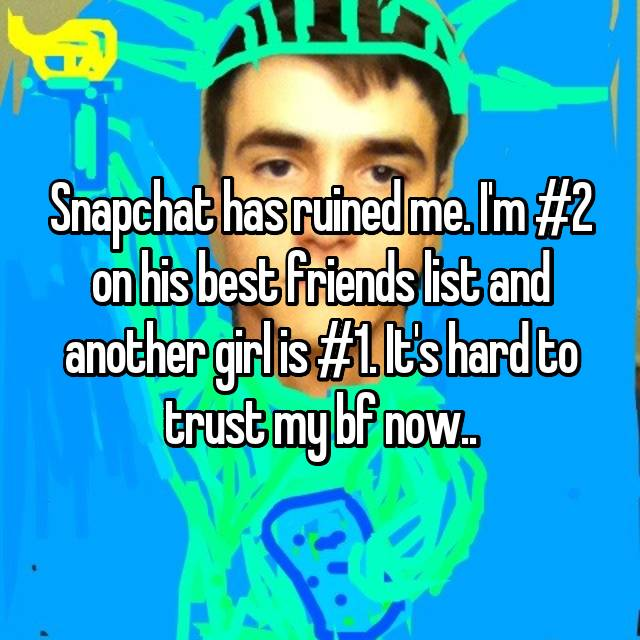 how to know if bf is using snapchat to chrat