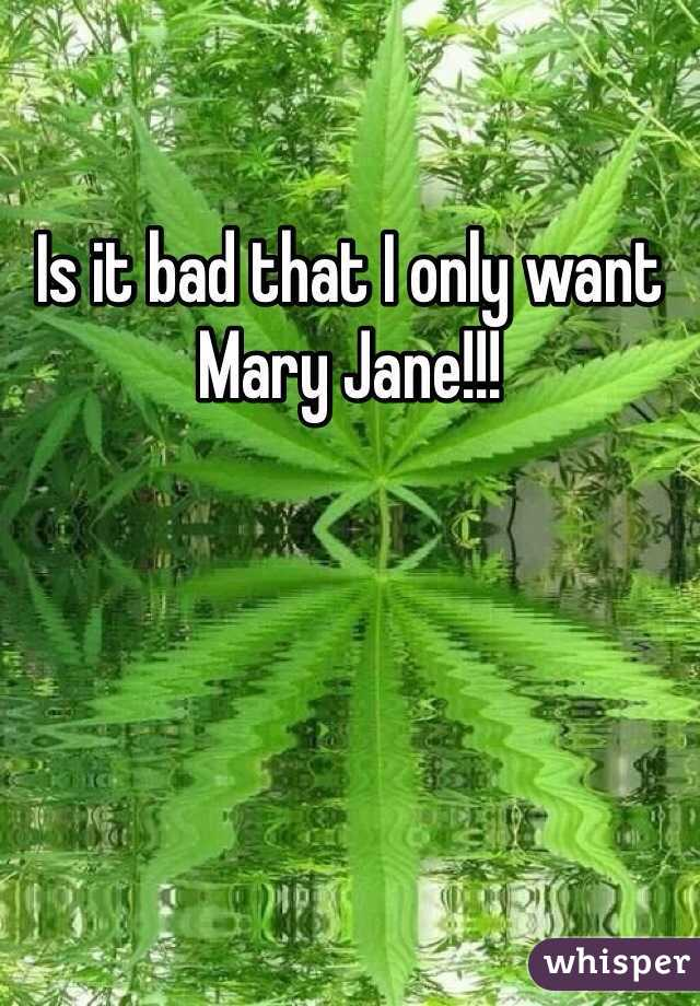 Is it bad that I only want Mary Jane!!!