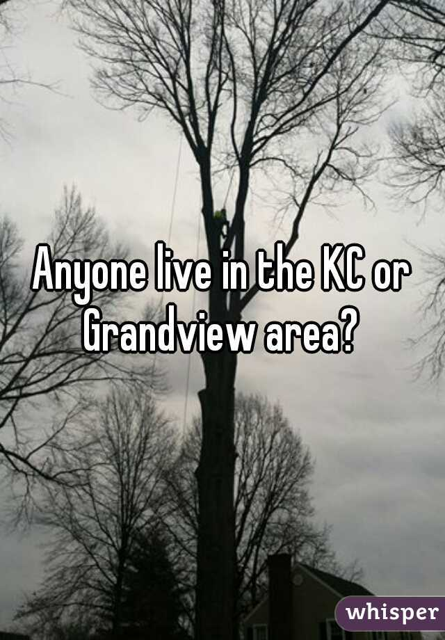 Anyone live in the KC or Grandview area?