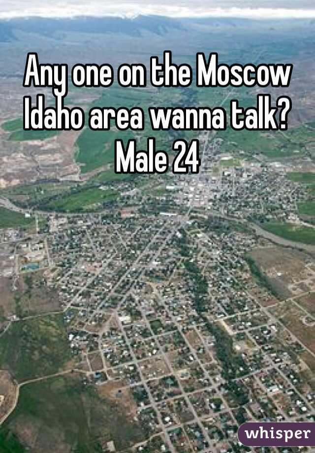 Any one on the Moscow Idaho area wanna talk? Male 24