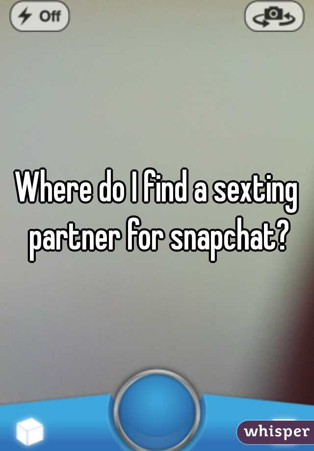 Find sexting partners snapchat