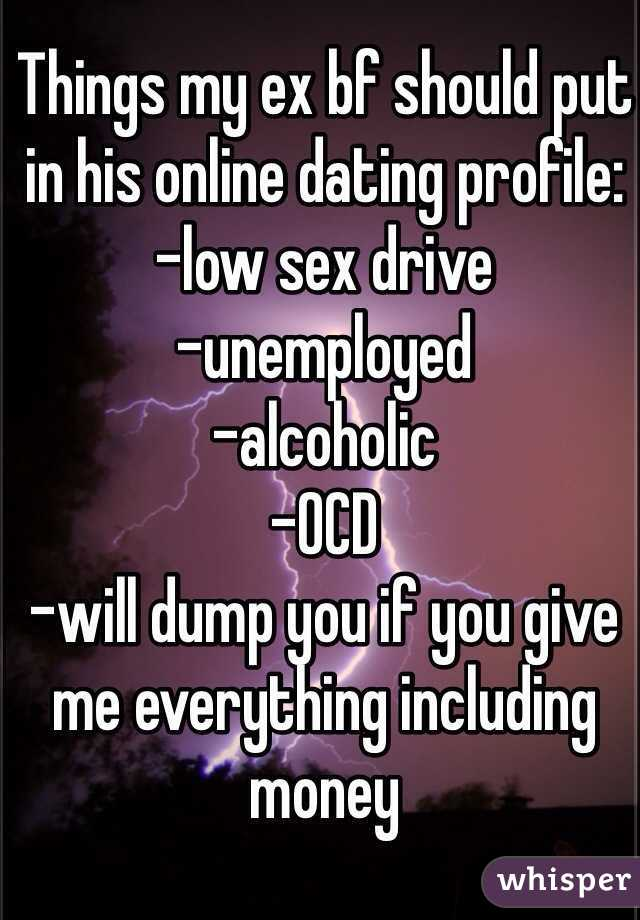 things to put on a dating profile