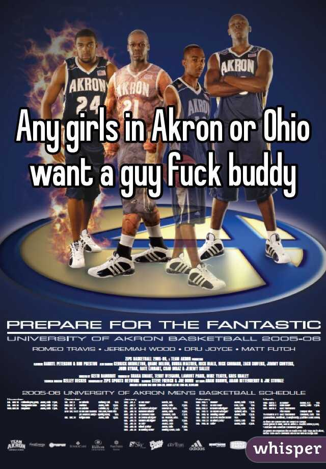 Any girls in Akron or Ohio want a guy fuck buddy