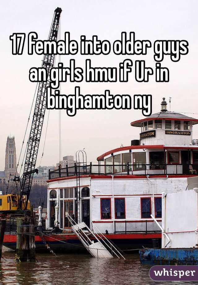 17 female into older guys an girls hmu if Ur in binghamton ny