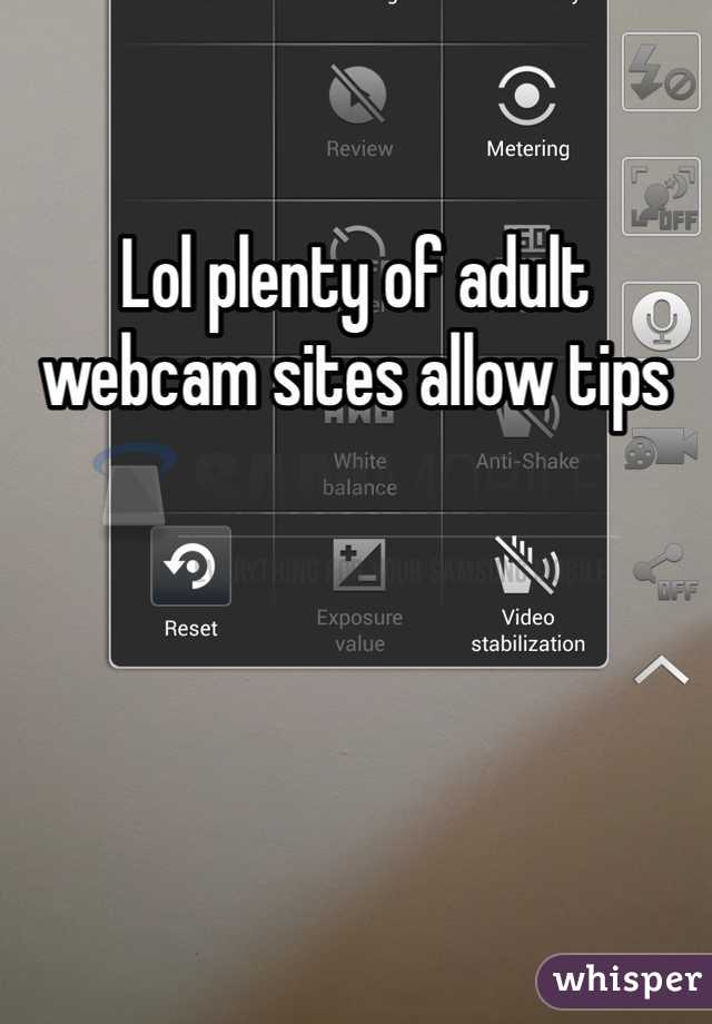 Really. All adult web cam site idea