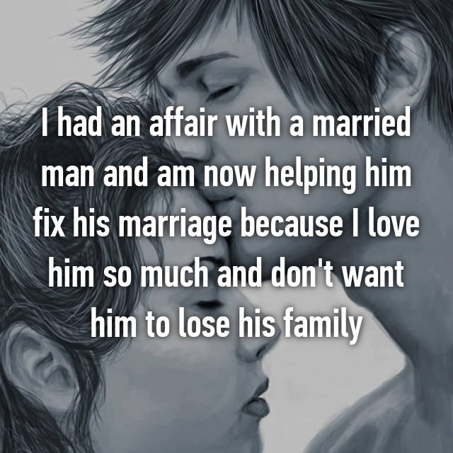 How To Cope With An Affair With A Married Man