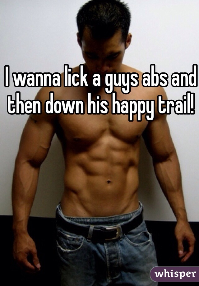 women licking sexy male abs