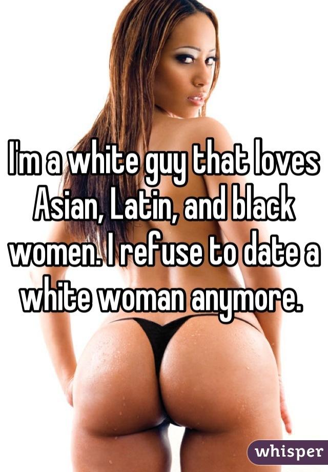 Im asian girl dating a white guy