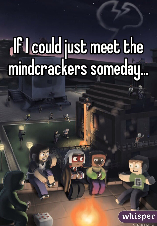 If I could just meet the mindcrackers someday...