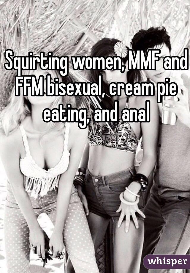 Adult cream pie eating