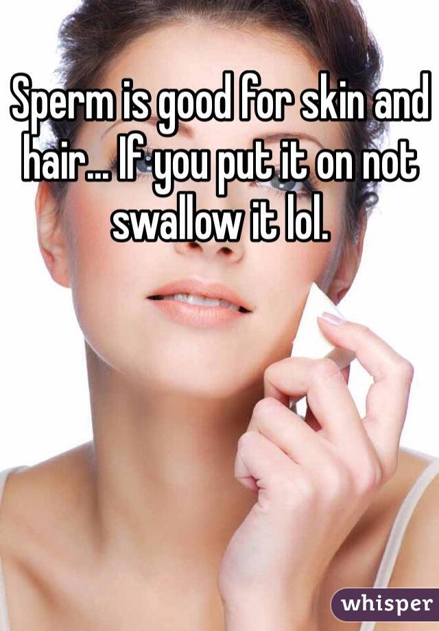 Mine, Not good sperm