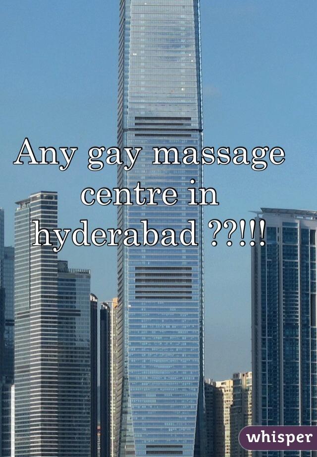 Gay massage center