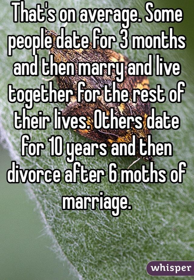 dating 10 months after divorce