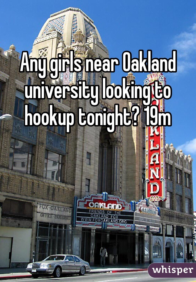 Oakland hookup