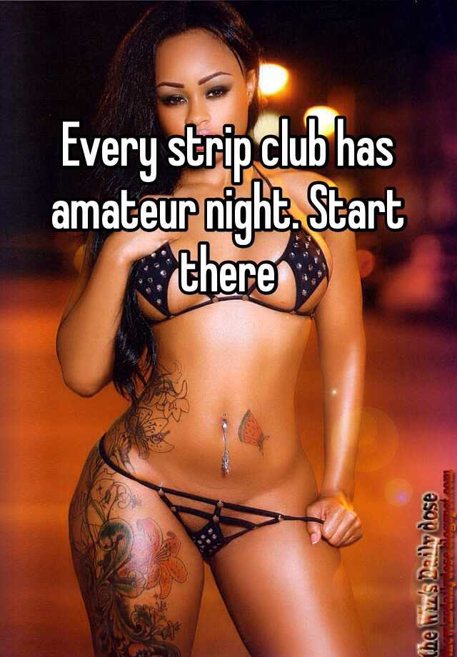 That amuter wife in strip club