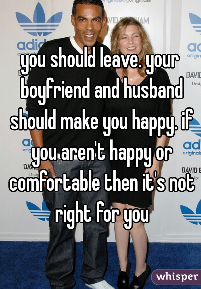 when should you leave your boyfriend