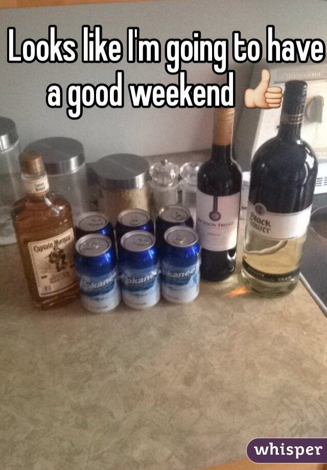 Looks like I'm going to have a good weekend 👍