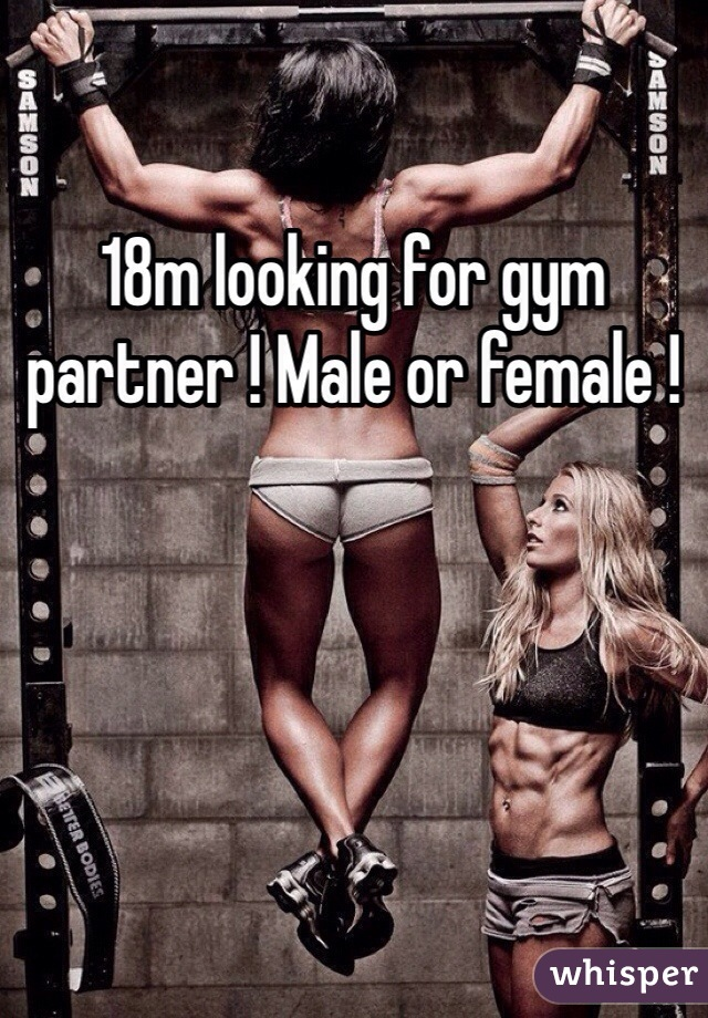 18m looking for gym partner ! Male or female !