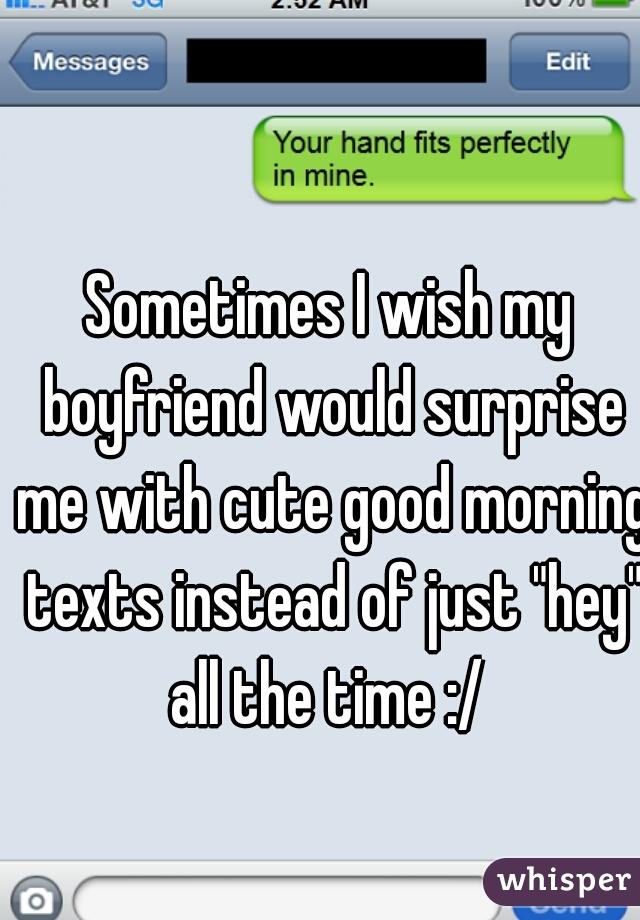 Morning sms to boyfriend