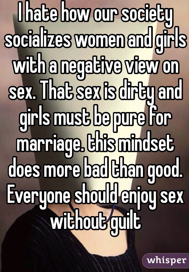 Why do married women hate sex
