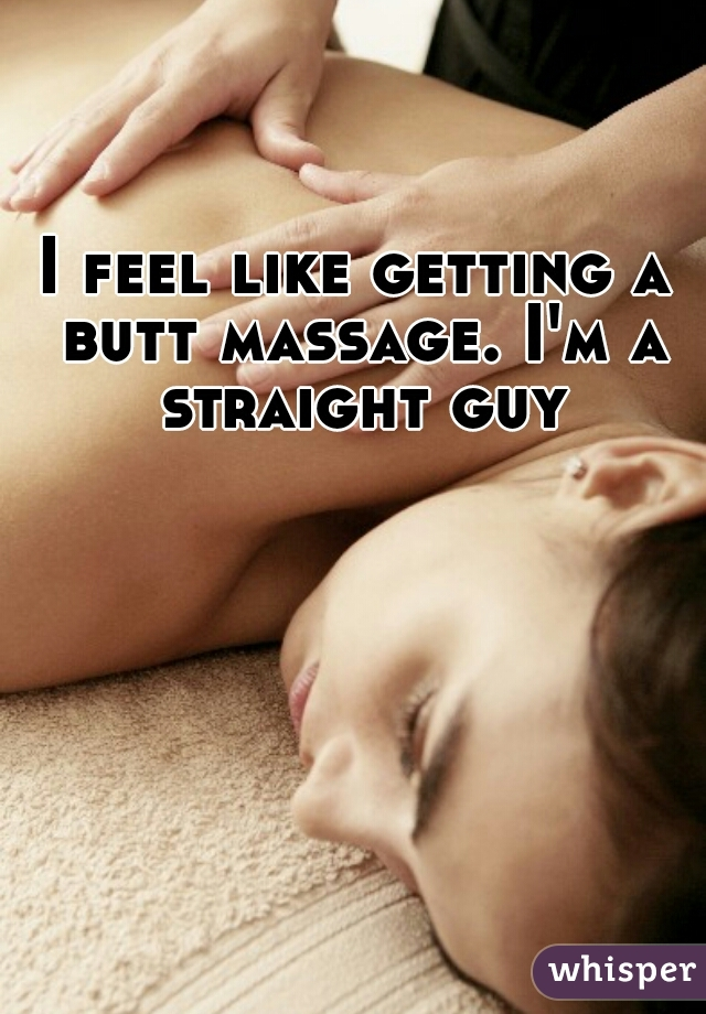 straight guy massage