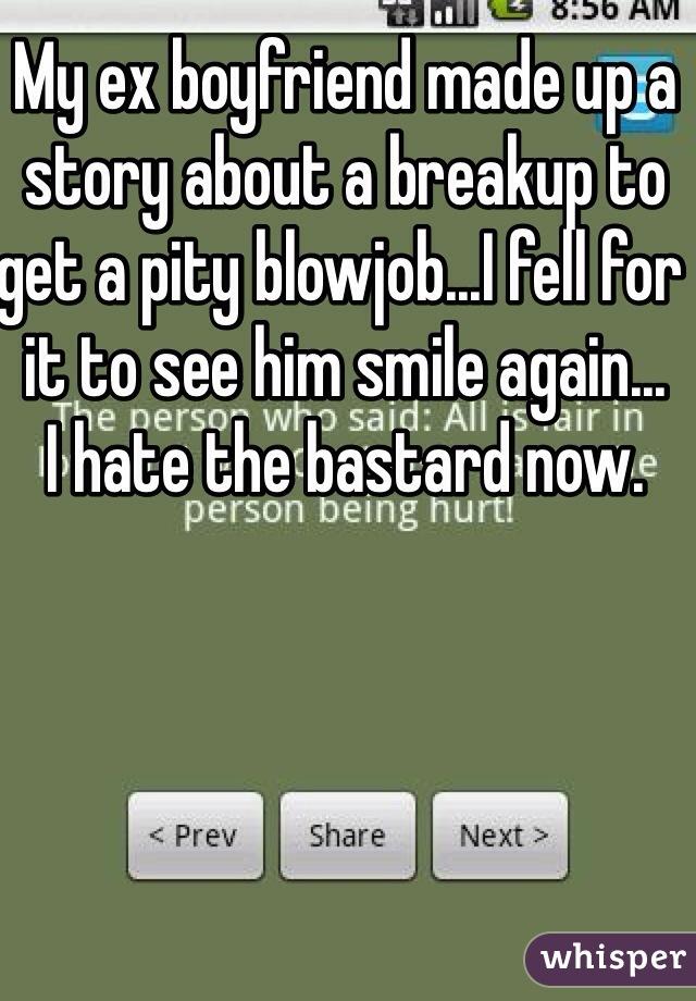 Pity blowjob