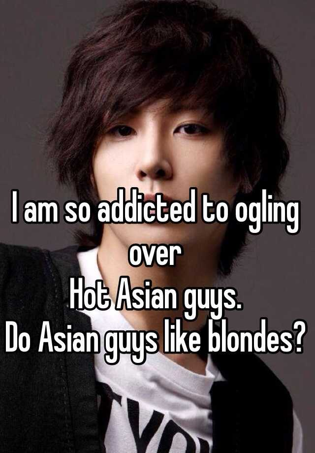 Asian men on blondea