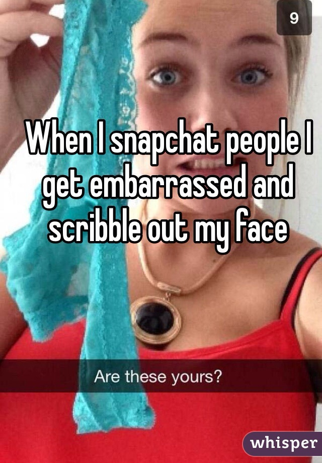 Embarrassing snapchat leaks
