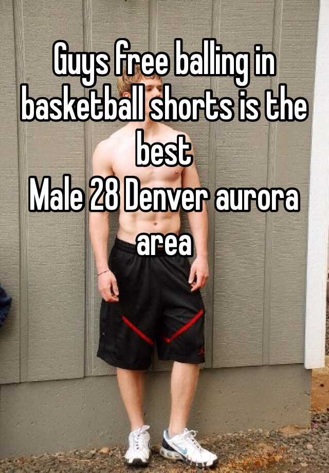 Guys Free Balling In Basketball Shorts Is The Best Male 28