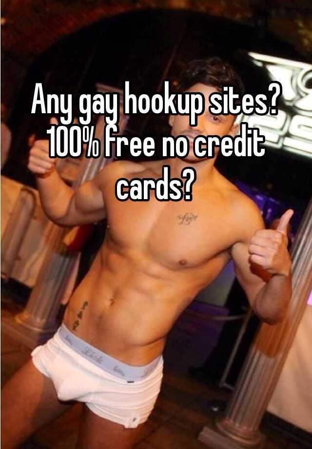 Free Gay Internet Hookup